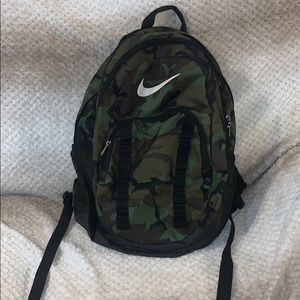Nike Camouflage Backpack